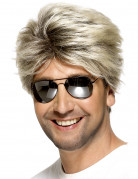 Korte blonde pruik voor mannen