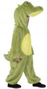 Groen pluche krokodillen kostuum voor kinderen