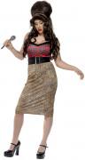 Zangeres Amy kostuum voor dames