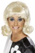 Blonde jaren 60 pruik voor dames