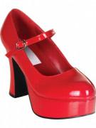 Rood gelakte, elegante schoenen voor volwassenen Halloween