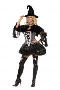 Sexy heksenkostuum voor vrouwen Halloween