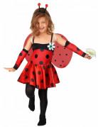 Lieveheersbeestje jurk kostuum voor meisjes