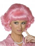 Candy roze Grease™ pruik voor dames
