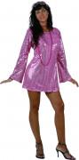 Roze discopak voor vrouwen