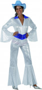 Schitterend wit discopak voor vrouwen