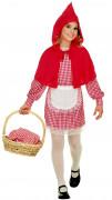Klein klassiek Roodkapjeskostuum voor meisjes