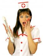 Reuzenthermometer voor verpleegster