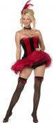 Cabaretdanseres kostuum voor dames