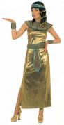 Goudkleurige outfit van een Egyptische koningin voor dames