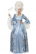 Sexy blauw hofdamekostuum voor vrouwen