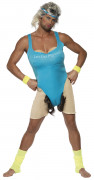 Travestiet sportinstructeur outfit voor mannen