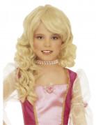 Blonde prinsessenpruik voor meisjes Arnhem