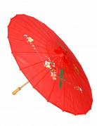 Rode Chinese parasol