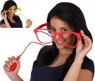 Reuzenbril die spuit