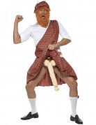 Humoristische Schotse outfit voor volwassen