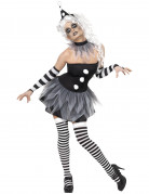 Sexy Halloween-Pierrotpak voor dames