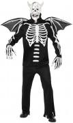 Demonskelettenkostuum voor volwassenen Halloween