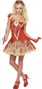 Sexy duivelskostuum voor vrouwen Halloween