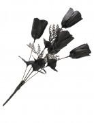 Bruidsboeket zwarte rozen