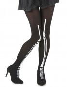 Halloween skelet panty