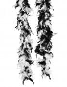 Zwart-witte boa