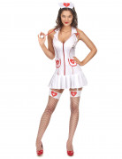 Sexy verpleegsterskostuum voor vrouwen