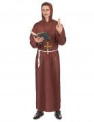 Bruin monniken kostuum voor mannen