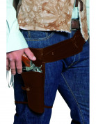 Westernriem met holster voor bandiet (volwassenen)
