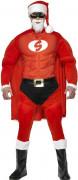 Pak van een gespierde kerstman voor mannen