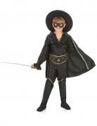 Zwarte musketier kostuum voor jongens