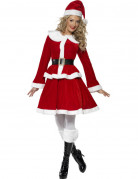 Kerstvrouw pak voor dames Feestkleding