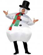Opblaasbaar Sneeuwpop voor volwassenen