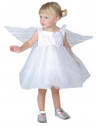 Engelenprinsessenpak voor kleine meisjes