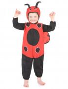 Lieveheersbeestje kostuum met stippen voor kinderen