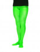 Groene ondoorzichtige panty voor mannen