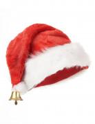 Luxueuze kerstmuts met belletje voor volwassenen
