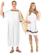 Kostuum van een Romeins koppel