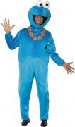 Kostuum van Cookie Monster uit Sesame Straat™ voor volwassenen