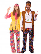 Hippie koppelkostuum Ijsselstein