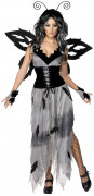 Halloween nachtvlinderkostuum voor vrouwen