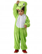 Groen krokodillenpak voor kinderen