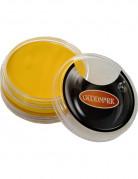Gele schmink op waterbasis