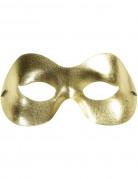 Goudkleurig glitter oogmasker voor volwassenen