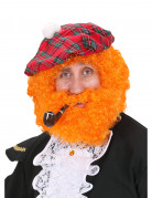 Rossige Schotse pruik voor mannen