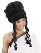Zwarte godinnepruik voor vrouwen