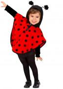 Lieveheersbeestjesponcho voor meisjes