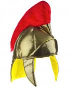 Goudkleurige Romeinse helm van schuim