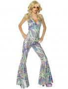 Discopak voor vrouwen met kleurrijke print