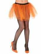 Fluo oranje rok voor volwassenen
